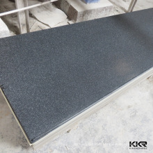 Artificial stone slab type decorative wall covering sheets