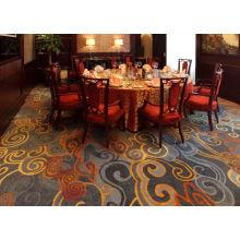Stardard 100% Nylon Custom Printed Carpets For Hotel Room Entertainment Hallway