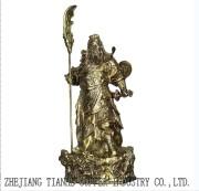 Copper Guandi-Sword Copper Artware