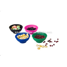 Factory price top quality silicon mini kitchen bowls