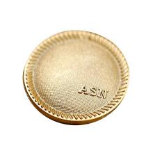 China Manufacturer Custom Fashion Clothing Coat Metal Sew Button