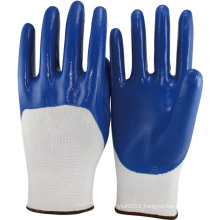 NMSAFETY oil and gas nitrile safety glove