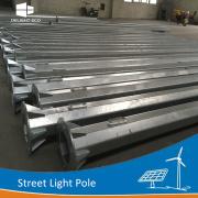 DELIGHT 5M Anti-wind Octagonal Metal Street Light Poles