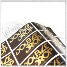 Etiquetas Metálicas de Ouro (KG-ST025)