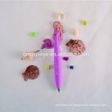 Individuelle PVC billig Werbe-Kugelschreiber mit eigenen logo