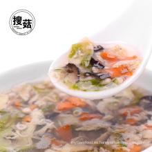 Certificación ISO, HACCP y sopa de okra Producto