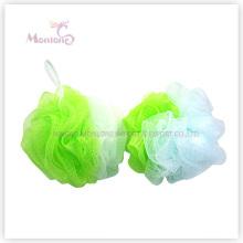 Badezimmer Produkte Bi-Color Puff Bad Ball Mesh Badeschwamm