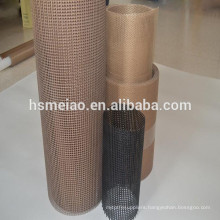 In roll fireproofing PTFE Coated Fiberglass mesh Fabric