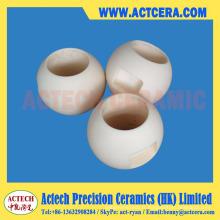 Personnalisé zircone et alumine céramique contrôle robinets à boisseau sphérique