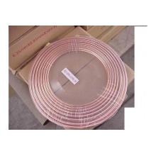 9.52mm Refrigeration copper pipe TP2 ASTM stander pancake coil copper pipe