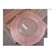 9,52 мм Рефрижераторная медная труба TP2 ASTM стальная блинная катушка медная труба