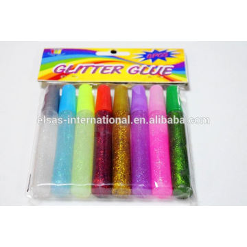 8pc 10ml Glitter Glue Pen/Dry Glitter Glue Fast