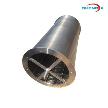 V-slot Wedge Wire Coal Centrifuge Basket