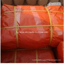 Orange Waterproof Fabric Tarp Sheet/PE Tarpaulin Sheet