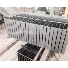 alimentation radiateur hauteur 100mm pour transformateur, radiateur pour transformateur à huile, radiateur pour le générateur