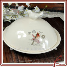 Keramik Kuchenständerhalter mit Deckel