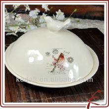 Soporte para tarro de cerámica con tapa