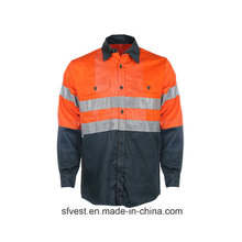 Рабочая одежда из 100% хлопка с высокой светоотражающей способностью
