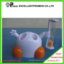 Temporizador de la arena de arena de reloj de titular de cepillo de dientes (EP-S1031)
