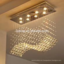 lámpara de araña de cristal moderna contemporánea LT-92014