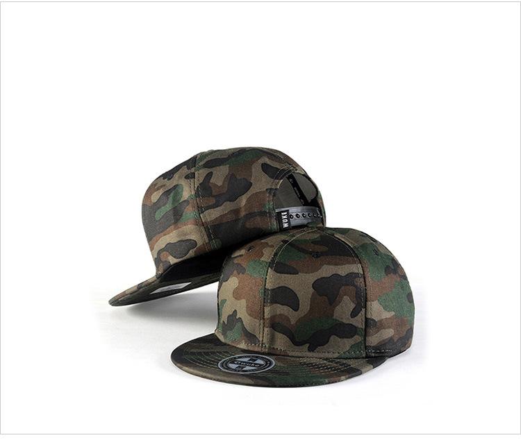 Camouflage hip-hop hat baseball hat man (2)