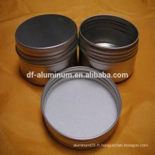 Petit pot en aluminium de la meilleure qualité