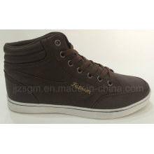 Fashion Brown High Top Casual Shoes