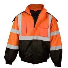 Vêtements de travail de sécurité Parka de sécurité Veste réfléchissante