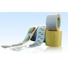 Material de etiquetas autoadhesivas