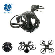 2.4G MINI Pocket Drone dilipat 360 darjah Rolling UFO RC Ball Berbentuk Quadcopter Drone RC
