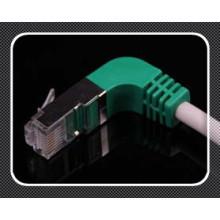 Cat5e / CAT6 Cable de conexión de ángulo recto