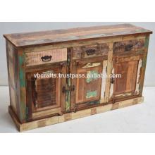 Zurückgefordert alte Holz Holz Sideboard