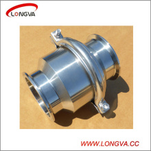 Food Grade Stainless Steel Tri Clamp Non Return Valve