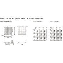 1.2 Inch, 3.0mm DOT (GNM-12882Ax-Bx)