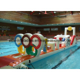 Commercial Pool Inflatable Water Obstacle Courses