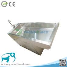 El tanque médico 304 de la limpieza del animal doméstico del veterinario del acero inoxidable