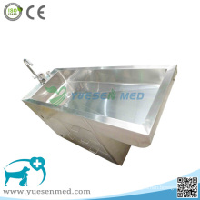 Medical 304 Stainless Steel Veterinary Pet Cleaning Tank