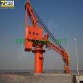 Marine/Port/Dock/Schiff Hydraulikkran fest für Verkauf China Lieferant