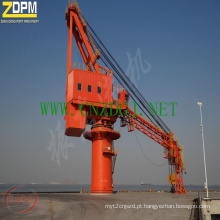 Guindaste hidráulico fixo do Marine/Porto/doca/navio para venda China fornecedor