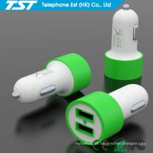 5V2.1A Universal Dual USB Car Phone Charger para Mobile