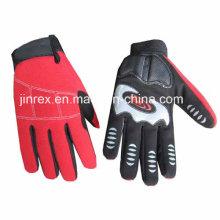 Mechanischer Arbeitsaufbau-Sicherheits-Handschutz-voller Finger-Handschuh