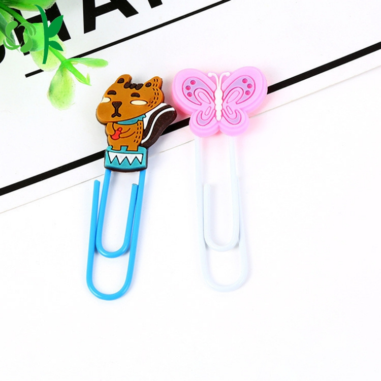 Colorful Silicone Bookmark