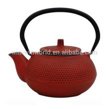 800ML Bunte Gusseisen Emaille Teekanne mit Edelstahl Infuser Hohe Qualität LFGB