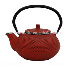 800ML Colorful Cast Iron Enamel Teapot with Stainless Steel Infuser High Quality LFGB