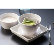 Vaisselle de série blanche de mélamine / mélamineware / vaisselle de catégorie comestible