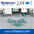 Computerized mixed coiling cord cording embroidery machine