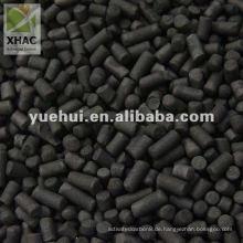 4mm säulenförmige Aktivkohle zur Desodorierung