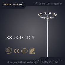 Gleichmäßige Beleuchtung LED1000W 20m hohes Mast-Licht (SX-GGD-LD-5)