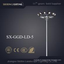 Illumination uniforme LED1000W 20m High Mast Light (SX-GGD-LD-5)