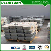 Supplier For Antimony Ingot 99.65%,99.85%,99.90%/lower price